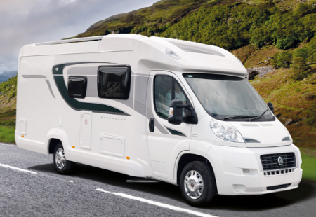 Fantastic Motorhome For Hire  4 Berth  Swift Kontiki 655  Location West